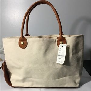 NEW!! Brooks Brothers canvas tote 👜